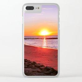 rota spain beach 14 Clear iPhone Case