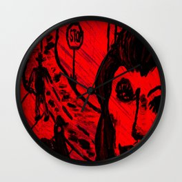My Wife The Hitchhiker (Original Version) Wall Clock