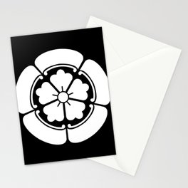 Samurai-Oda family Crest Stationery Cards