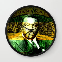 Marcus Garvey Jamaican Freedom fighter Wall Clock