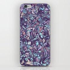 O formonsum spectaculum blue edition iPhone Skin
