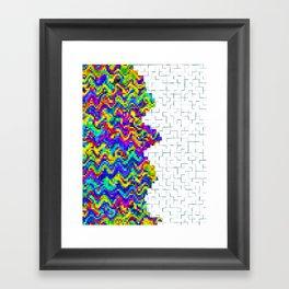 Digital Edge Framed Art Print