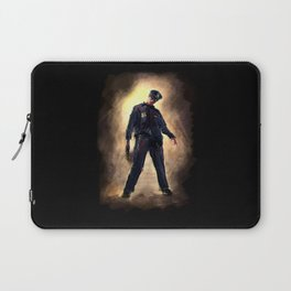 Zombie Cop Laptop Sleeve