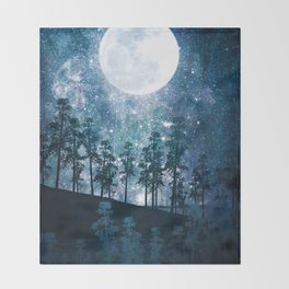 A Forest of Stars Throw Blanket