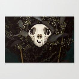 Skull and Bone Canvas Print