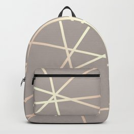 Elegant rose gold pattern Backpack