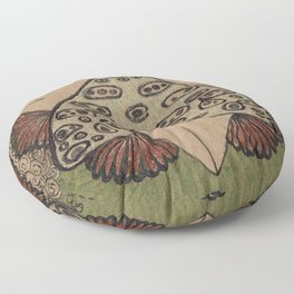 Moth Messenger Floor Pillow