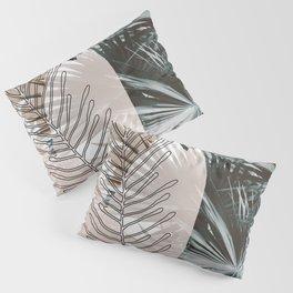 Warm Collage Tropical Pillow Sham