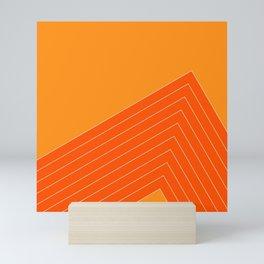 Orange Crush Range Mini Art Print