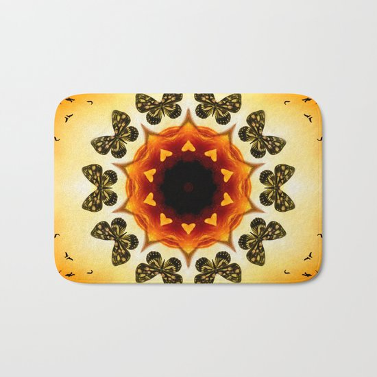 All things with wings Bath Mat