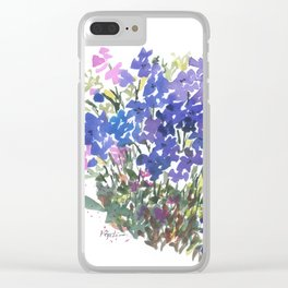 All The Blues Clear iPhone Case