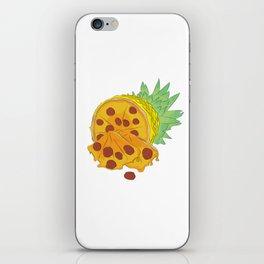 Pizza Pineapple iPhone Skin