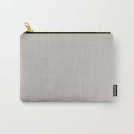 Silver Scene ~ Sand-Grey Coordinating Solid Carry-All Pouch