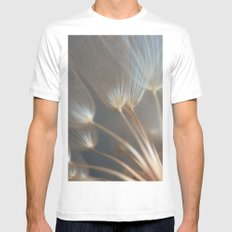 I'll Seek You In The Morning  MEDIUM White Mens Fitted Tee