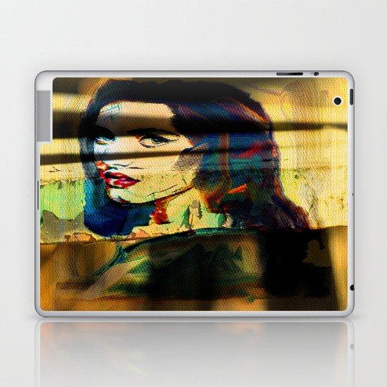 Painted Persephone On Rust Laptop & iPad Skin by jeffreyjirwin