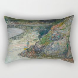The Banks of River Aven Rectangular Pillow