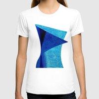 aqua T-shirts featuring Aqua by BruceStanfieldArtistPainter