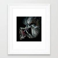 predator Framed Art Prints featuring Predator by Shannon Laing