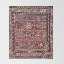 Shahsavan  Azerbaijan Northwest Persian Bag Print Throw Blanket