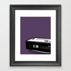 Pop Icon - Groundhog Day Framed Art Print