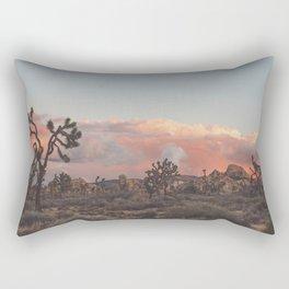 Joshua Tree Sunset No.2 Rectangular Pillow