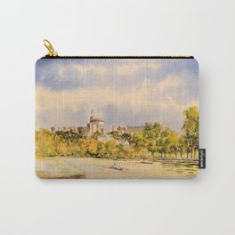 Windsor Castle And River Thames Carry-All Pouch
