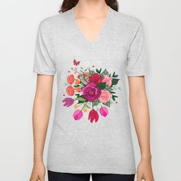 Little Sparrow Unisex V-Neck