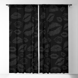 Dark Lips Blackout Curtain