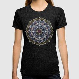 Blue Wave Mandala T-shirt