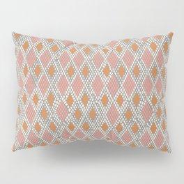 Peachy Python Pillow Sham