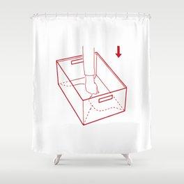 instruction Shower Curtain