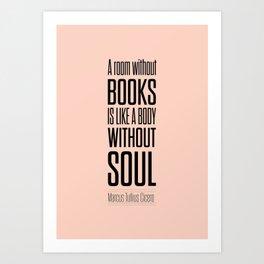 Lab No. 4 - Marcus Tullius Cicero Inspirational Quotes Poster Art Print