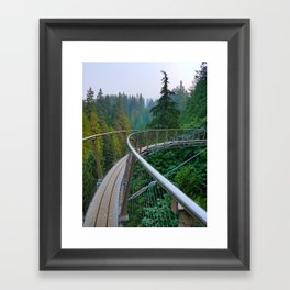 On Edge Framed Art Print