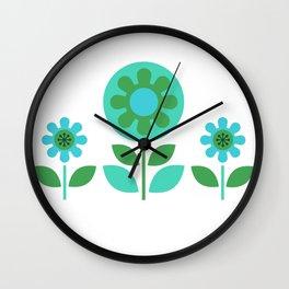Hills & Daylesford Blue Wall Clock