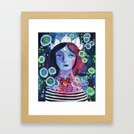 Moon Goddess Framed Art Print