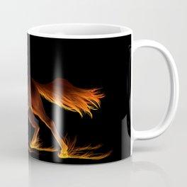 Fire Trail Horse Coffee Mug