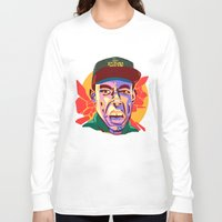 tyler spangler Long Sleeve T-shirts featuring TYLER  by Brainjuice