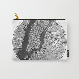 New York Map Universe Carry-All Pouch