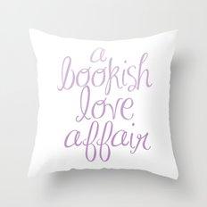 CUSTOM ORDER - ABOOKISHLOVEAFFAIR Throw Pillow