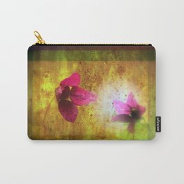 marriage of Titania; Salmon berry floral duet Shakespearean hidden pictures Carry-All Pouch