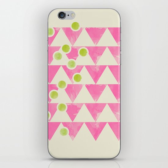 Peas in a basket iPhone & iPod Skin