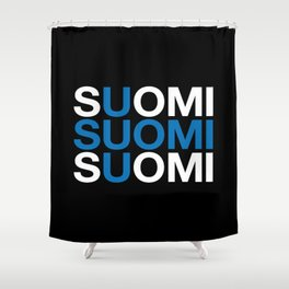 FINLAND Shower Curtain