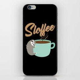 Sloffee | Coffee Sloth iPhone Skin