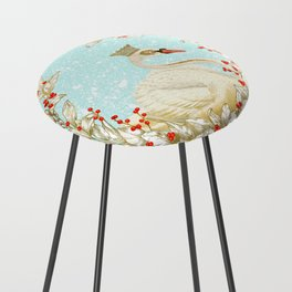 White Swan Counter Stool