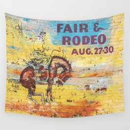 Fair & Rodeo Wall Tapestry
