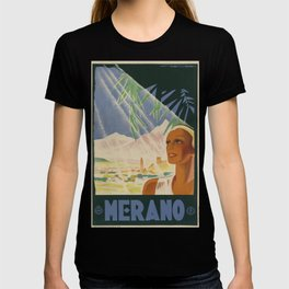 ENIT Merano Vintage Travel Poster T-shirt