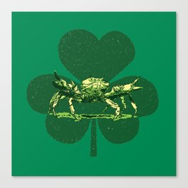 A Pinch o' Green Canvas Print