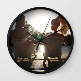 When The Moment Is Right Wall Clock