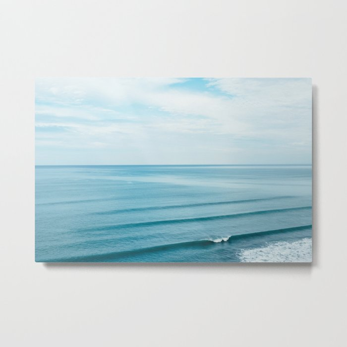 Pretty Waves Metal Print