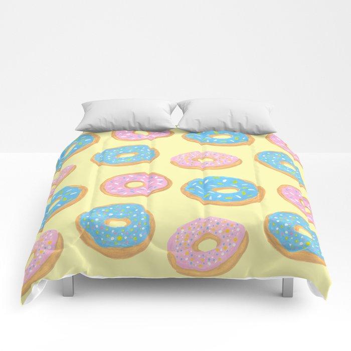 Doughnut Pattern Comforters
